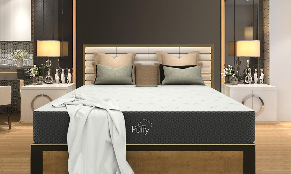 front-view-puffy-mattress